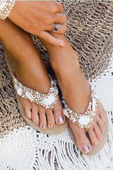 Chaussons Coco Beach Rose