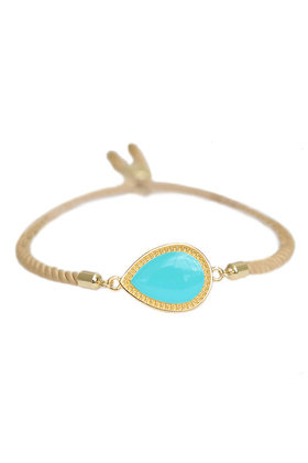 Armband Versailles Turquoise/Goud