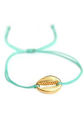 Armband Shell Türkis