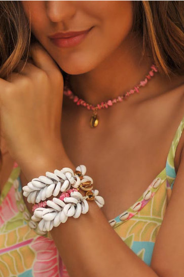 Necklace Indy Short Pink