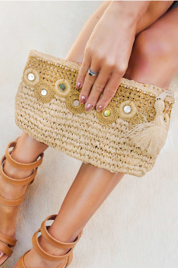 Clutch Sunset Ivory