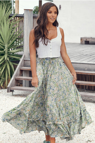 Maxi Skirt Beachley Marielle Vintage Mint