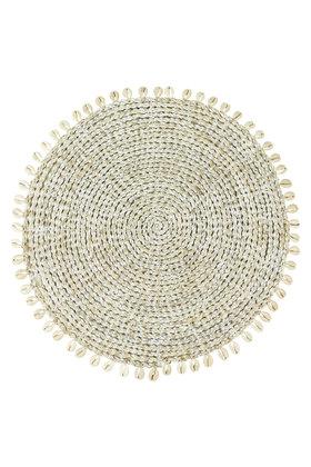 Set de Table Coquilles Délavé Blanc