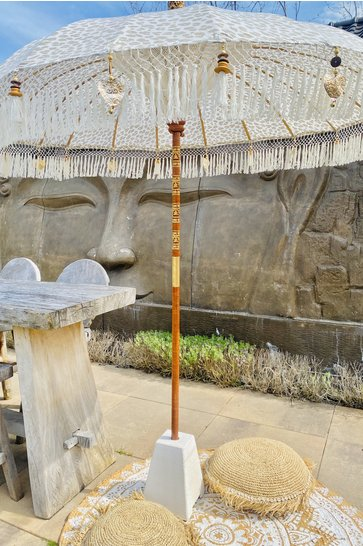Balinese Parasol 200cm Leopard