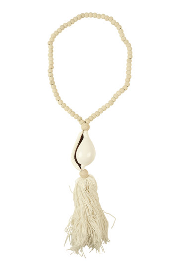 Collar Ornamental Concha Natural
