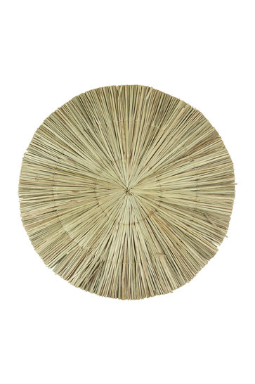 Wicker Placemat Round Natural