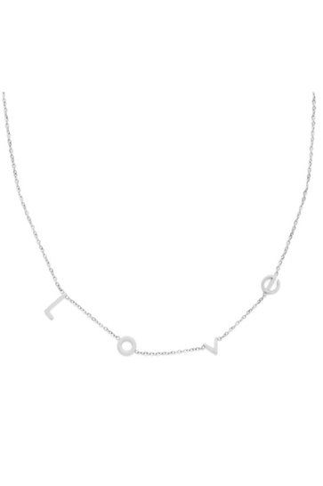 Necklace Love Silver