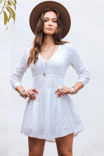Kurzes Kleid Lolita White