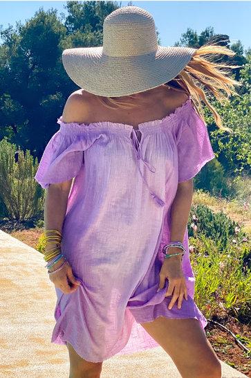 Kurzes Kleid Sherita Lila