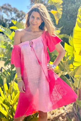 Robe courte Sherita Coral