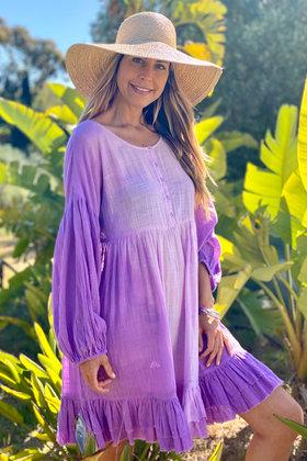 Robe courte Chela Lila