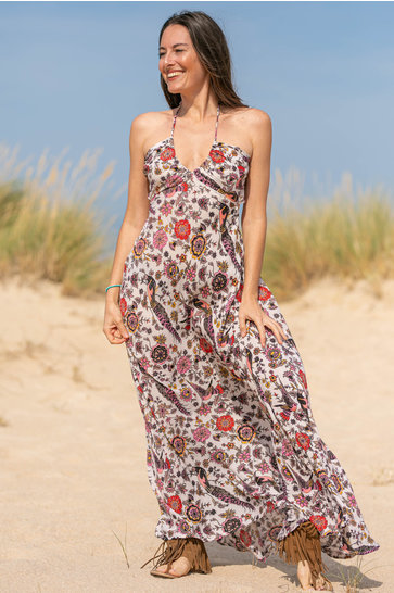 Maxi Dress Elia Flowers Terra
