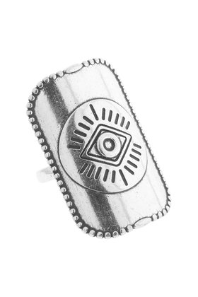 Ring Timeless Bague Oeil Silver