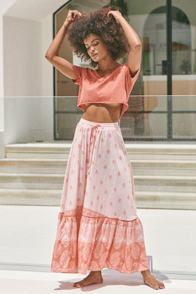 Maxi Skirt Opal Berry Bliss Coral
