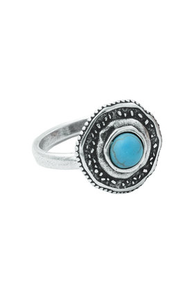Ring Fortuna Turquoise Silver