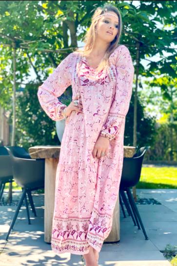 Maxi Dress Dominga Pink