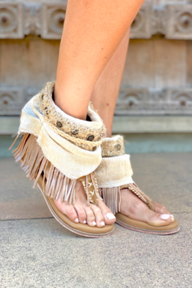 Sandals Donna Gypsy Queen Ivory
