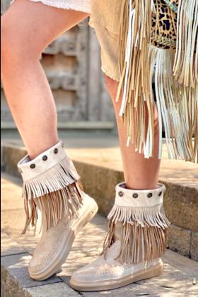 Boots Uluru Frange Sand