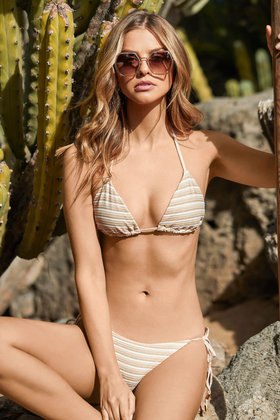 Bikini-Unterteil New Earth Beige