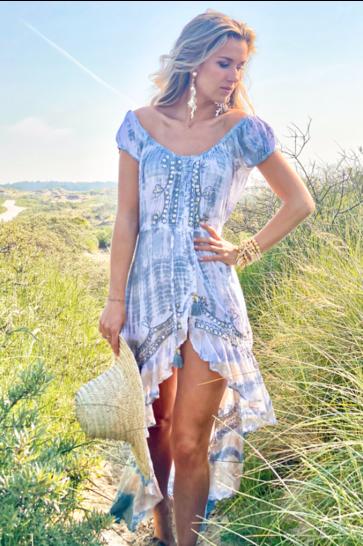 Vestido Maxi Rosita Gris