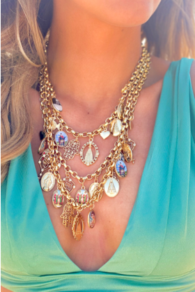 Necklace Mixaxe Gold