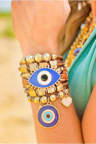 Armband Dubai Bruin