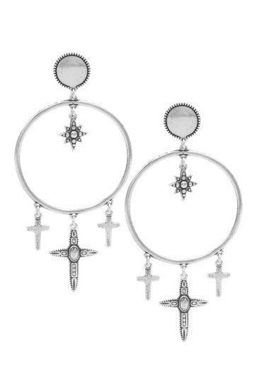 Earrings Timeless Pampill Silver