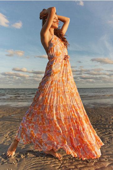 Vestido largo Rosalie Multi