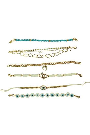 Armband-Set Syrus Elfenbein