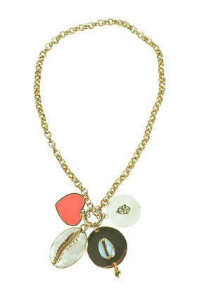 Necklace Love Gold