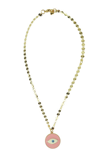 Collier Yeux Rose
