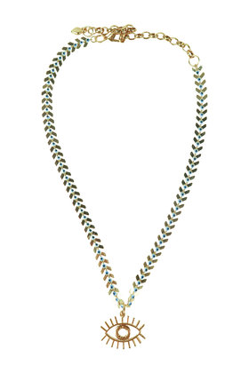 Necklace Eye Gold