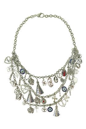Halskette Mixaxe Silber