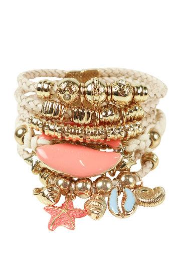 Bracelet Lombok Saumon