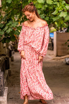 Maxi Skirt Robyn Ice Pink