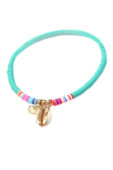 Anklet Surf Club Turquoise