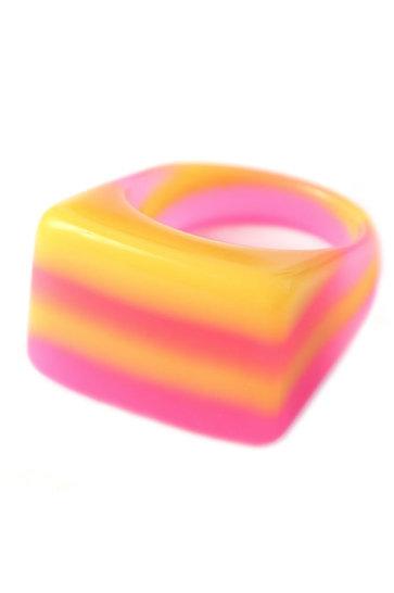 Ring Candy Love Rosa/Orange