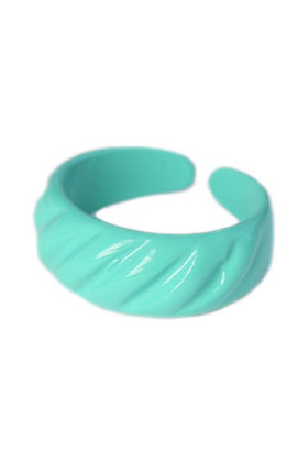 Ring Baguette Turquoise