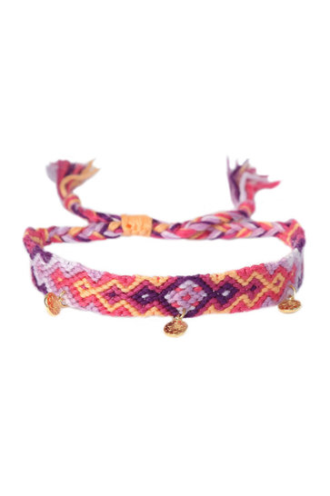 Anklet Cotton Pacha Lilac