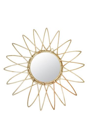 Miroir Bambou Soleil