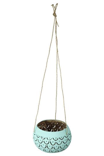Hanging Mood Light Holder Mula Titi Turquoise
