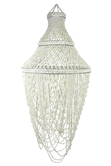 Lampenschalen Kerang Weiß