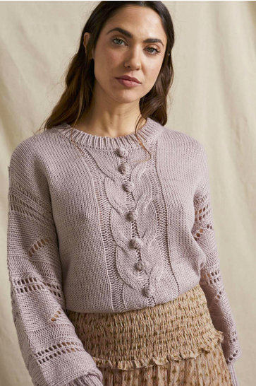 Sweater Astra Vintage Lilac