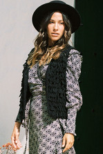 Maxi Dress Indian With Love Black