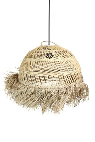 Lamp Grass Round Motif