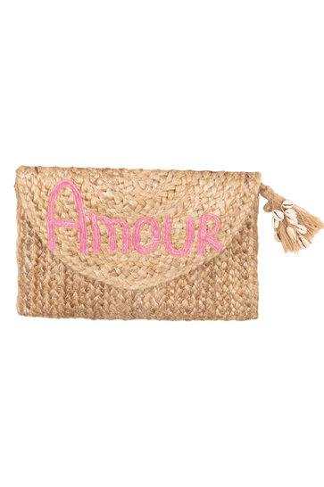 Clutch Amour Pink
