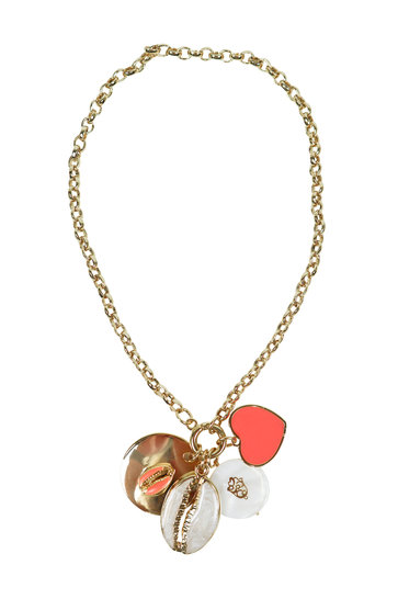 Necklace Love Shell Peach