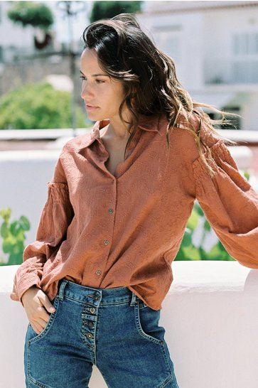 Blouse Embroidered Terra
