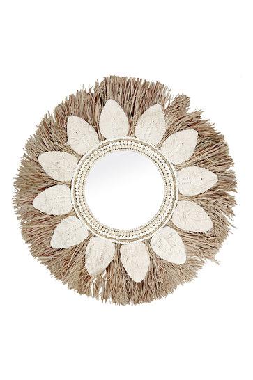 Miroir Palmier Feuille d'Herbe