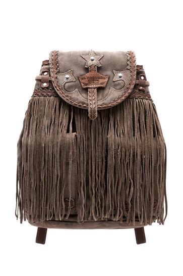 Backpack Winter Silverstone Dark Brown
